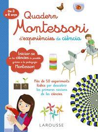 Quad Montessori De Experiencies De Ciencia - Aa. Vv.