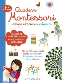 QUAD MONTESSORI DE EXPERIENCIES DE CIENCIA