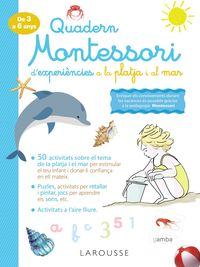 QUAD MONTESSORI DE EXPERIENCIES A LA PLATJA I EL MAR