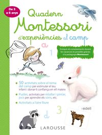 QUAD MONTESSORI DE EXPERIENCIES AL CAMP