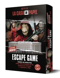 ESCAPE GAME - LA CASA DE PAPEL - OBJETIVO: LIBERAR A RIO