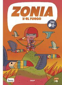 zonia y el fuego - Fer Calvi