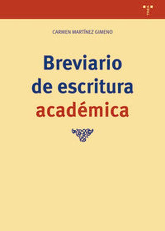 BREVIARIO DE ESCRITURA ACADEMICA