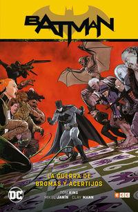 BATMAN 6 - LA GUERRA DE BROMAS Y ACERTIJOS (BATMAN SAGA - RENACIMIENTO PARTE 6)