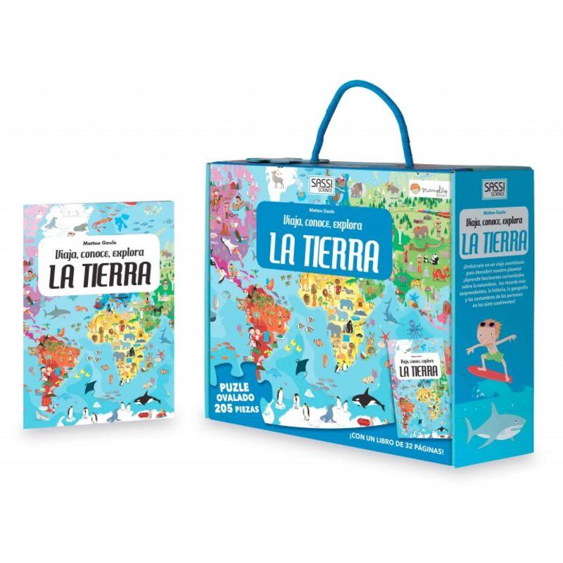 LA TERRA - VIATJA, CONEIX, EXPLORA (+PUZZLE)