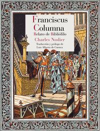 FRANCISCUS COLUMNA - RELATO DE BIBLIOFILO