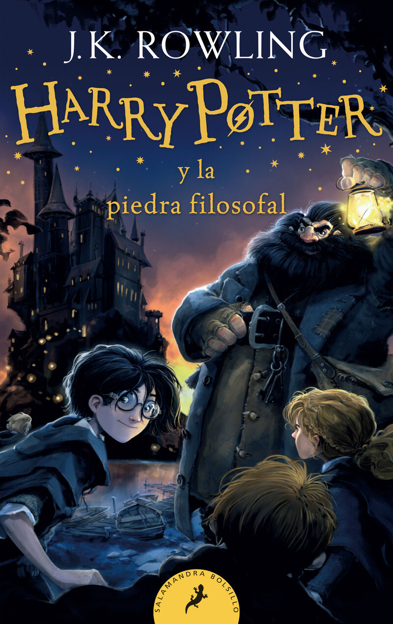 HARRY POTTER Y LA PIEDRA FILOSOFAL - HARRY POTTER 1