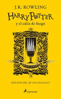HARRY POTTER Y EL CALIZ DE FUEGO (HUFFLEPUFF) (ED. 20º ANIVERSARIO) (HARRY POTTER 4)