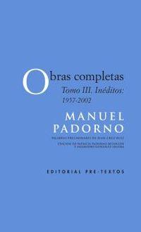 OBRAS COMPLETAS III - INEDITOS 1957-2002