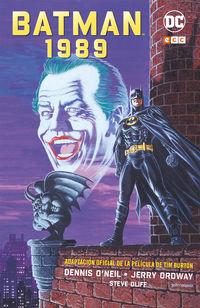 BATMAN 1989 - ADAPTACION OFICIAL DE LA PELICULA DE TIM BURTON