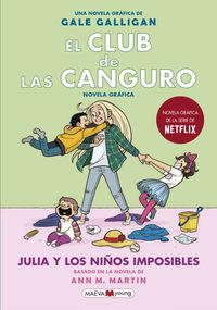 CLUB DE LAS CANGURO, EL 5 - JULIA Y LOS NIÑOS IMPOSIBLES