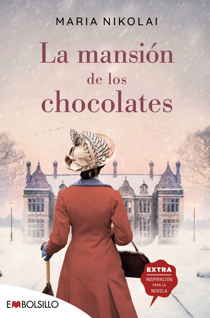 la mansion de los chocolates - una novela tan intensa y tentadora como el cocholate - Maria Nikolai