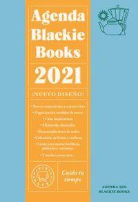 AGENDA BLACKIE BOOKS 2021 - CUIDA TU TIEMPO