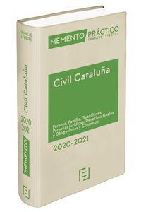 MEMENTO PRACTICO CIVIL CATALUÑA 2020-2021