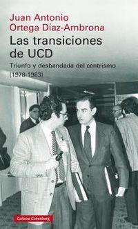 TRANSICIONES DE UCD, LAS - TRIUNFO Y DESBANDADA DEL CENTRISMO (1978-1983)