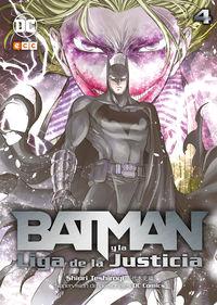 BATMAN Y LA LIGA DE LA JUSTICIA 4