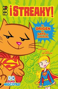 DC ¡SUPERMASCOTAS! - ¡STEAKY!
