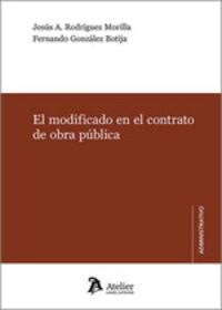 EL MODIFICADO EN EL CONTRATO DE OBRA PUBLICA