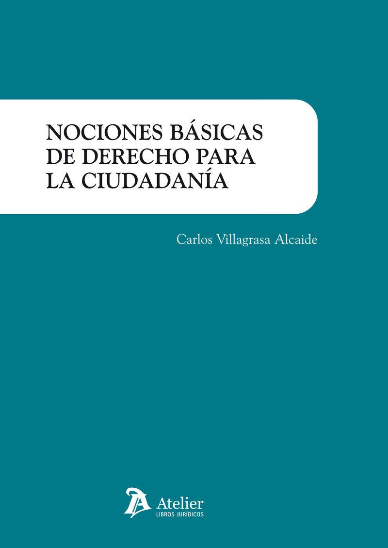 NOCIONES BASICAS DE DERECHO PARA LA CIUDADANIA