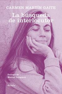 LA BUSQUEDA DE INTERLOCUTOR