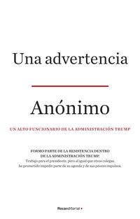ADVERTENCIA, UNA