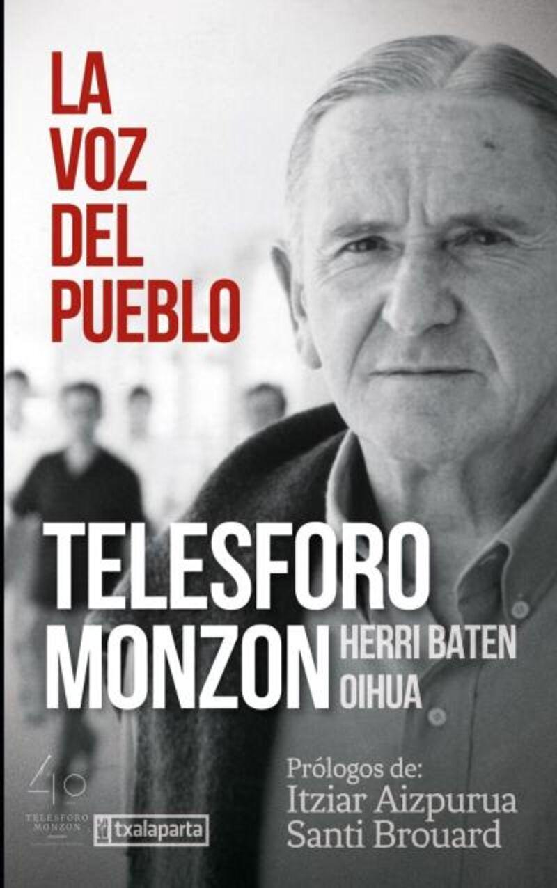 telesforo monzon - la voz del pueblo. herri baten oihua - Telesforo Monzon