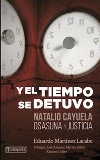 y el tiempo se detuvo - natalio cayuela: osasuna y justicia - Eduardo Martinez Lacabe