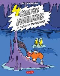 4 COBAYAS MUTANTES - LA BESTIA DE LAS PROFUNDIDADES