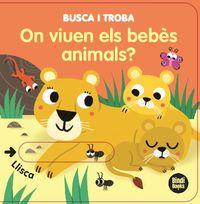 BUSCA I TROVA - ON VIUEN ELS BEBES ANIMALS?