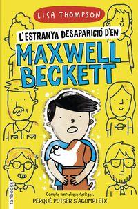L'ESTRANYA DESAPARICIO D EN MAXWELL BECKETT