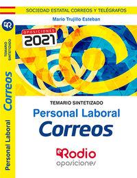 TEMARIO SINTETIZADO - PERSONAL LABORAL - CORREOS