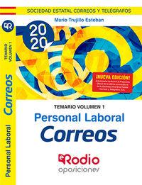 TEMARIO 1 - PERSONAL LABORAL - CORREOS