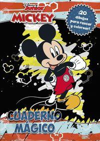 mickey - cuaderno magico - 20 dibujos para rascar y colorear - Aa. Vv.