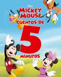 mickey mouse - cuentos de 5 minutos - recopilatorio de cuentos - Aa. Vv.