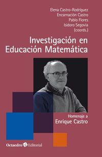 INVESTIGACION EN EDUCACION MATEMATICA