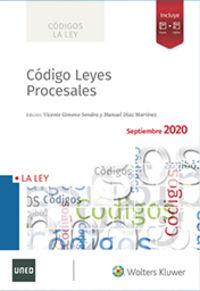 CODIGO LEYES PROCESALES 2020 (UNED) (INCLUYE SMARTECA)