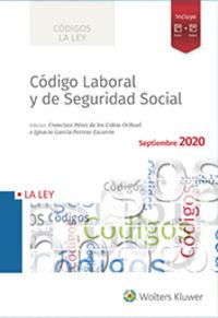 CODIGO LABORAL Y DE SEGURIDAD SOCIAL 2020 (INCLUYE SMARTECA)
