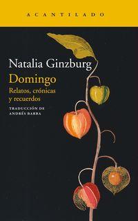 domingo - Natalia Ginzburg