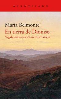 en tierra de dioniso - Maria Belmonte Barrenechea