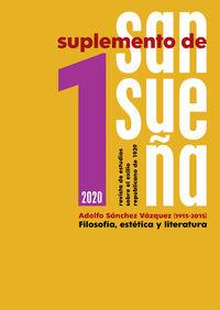 SUPLEMENTO DE SANSUEÑA 1 - REVISTA DE ESTUDIOS SOBRE EL EXILIO REPUBLICANO DE 1939