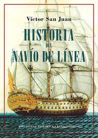HISTORIA DEL NAVIO DE LINEA