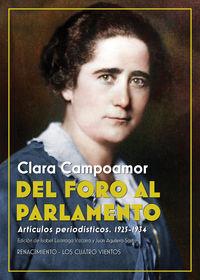 DEL FORO AL PARLAMENTO - ARTICULOS PERIODISTICOS (1925-1934)