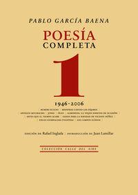 POESIA COMPLETA 1 - (1946-2006)