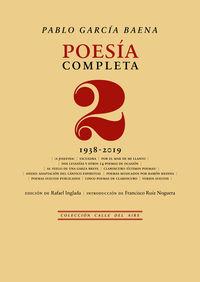 POESIA COMPLETA 2 - (1938-2019)