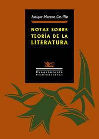 notas sobre teoria de la literatura - Enrique Moreno Castillo