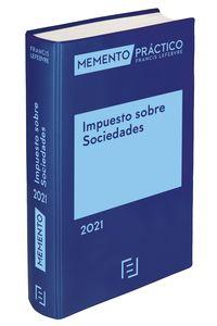 MEMENTO PRACTICO - IMPUESTO SOBRE SOCIEDADES 2021