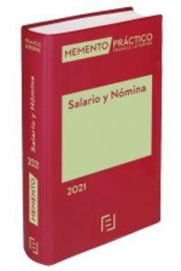 MEMENTO PRACTICO SALARIO Y NOMINA 2021