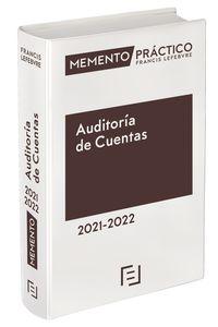 MEMENTO PRACTICO AUDITORIA DE CUENTAS 2021-2022