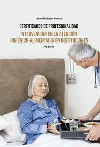 (2 ED) INTERVENCION EN LA ATENCION HIGIENICO ALIMENTARIA EN INSTITUCIONES
