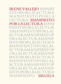 MANIFIESTO POR LA LECTURA (PREMIO NACIONAL DE ENSAYO 2020)